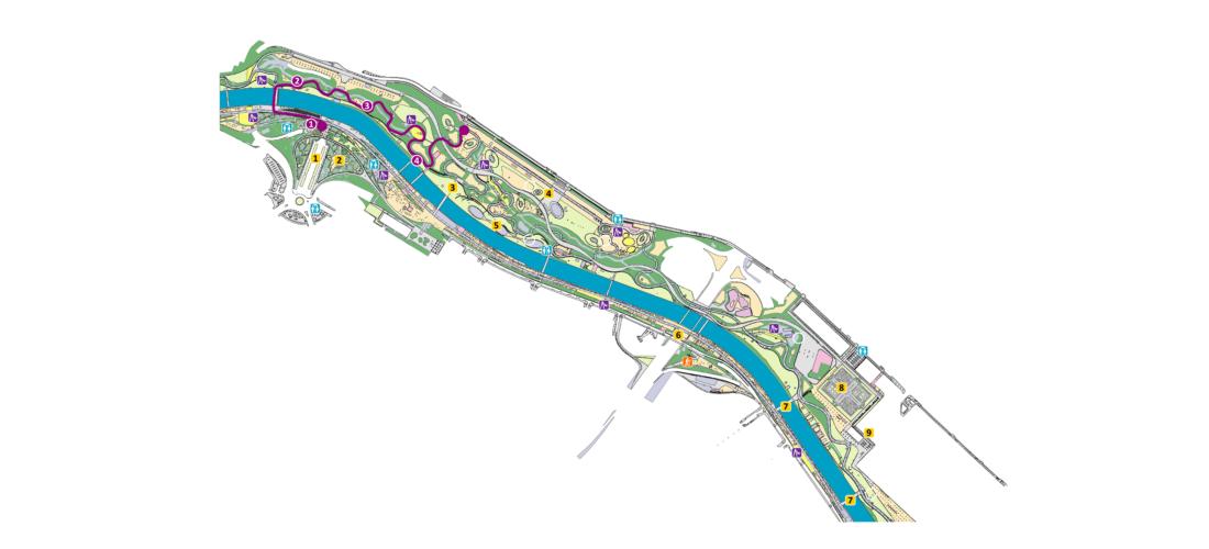 Mapa senda temática 2